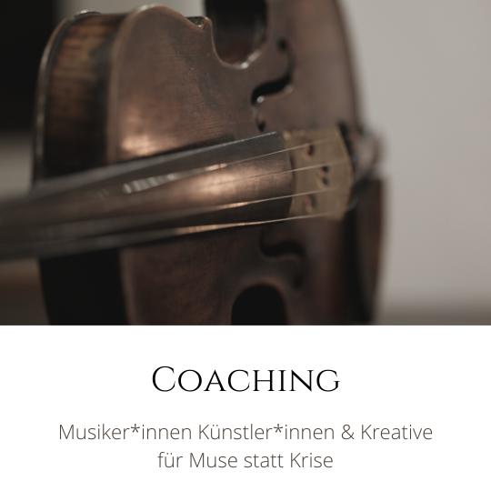 Coaching für Musiker in Krisen